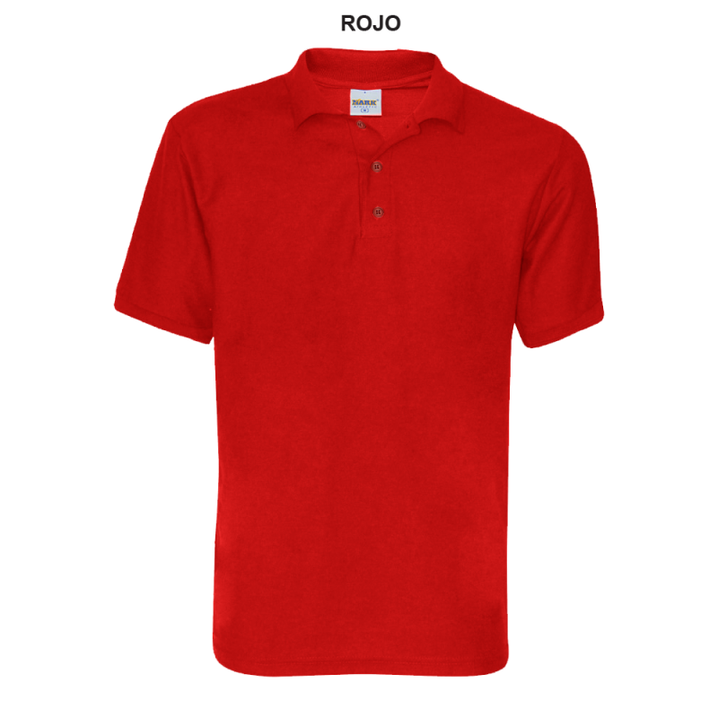 Playera Polo Junior Rojo