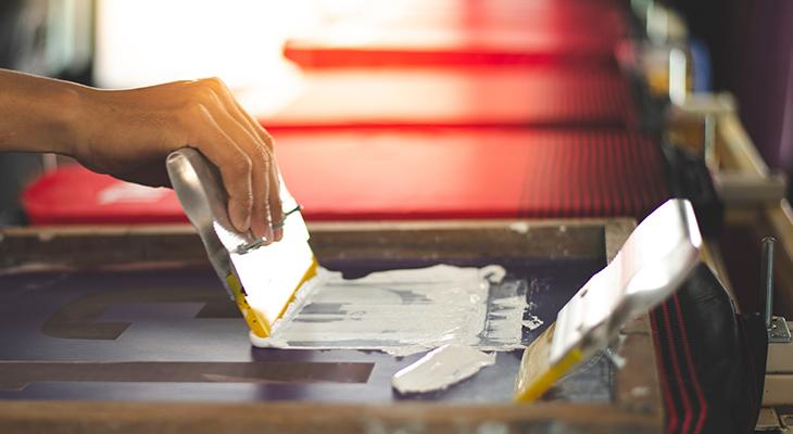 Serigrafía o impresión digital